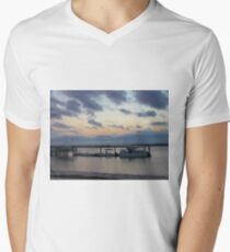 Beautiful Sky At Night Men's V-Neck T-Shirt