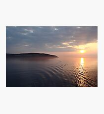 Sunrise over the Isle Of Man Photographic Print