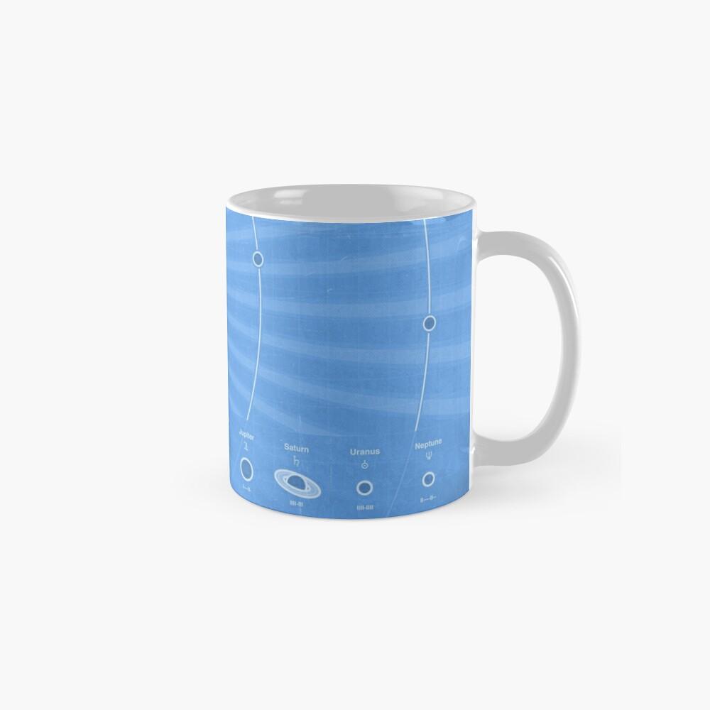 Solar System Cool - portrait Standard Mug