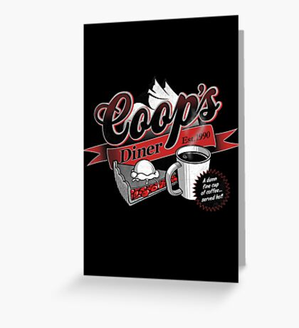 Coop's Diner Greeting Card