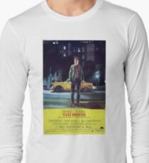 Classic Movie Poster - Taxi Driver Long Sleeve T-Shirt