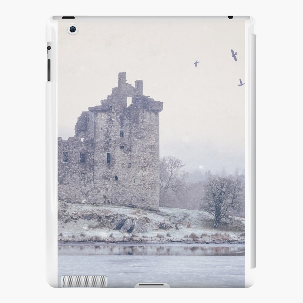 """""""First Snowfall"""" by Cat Burton iPad Cases & Skins"""