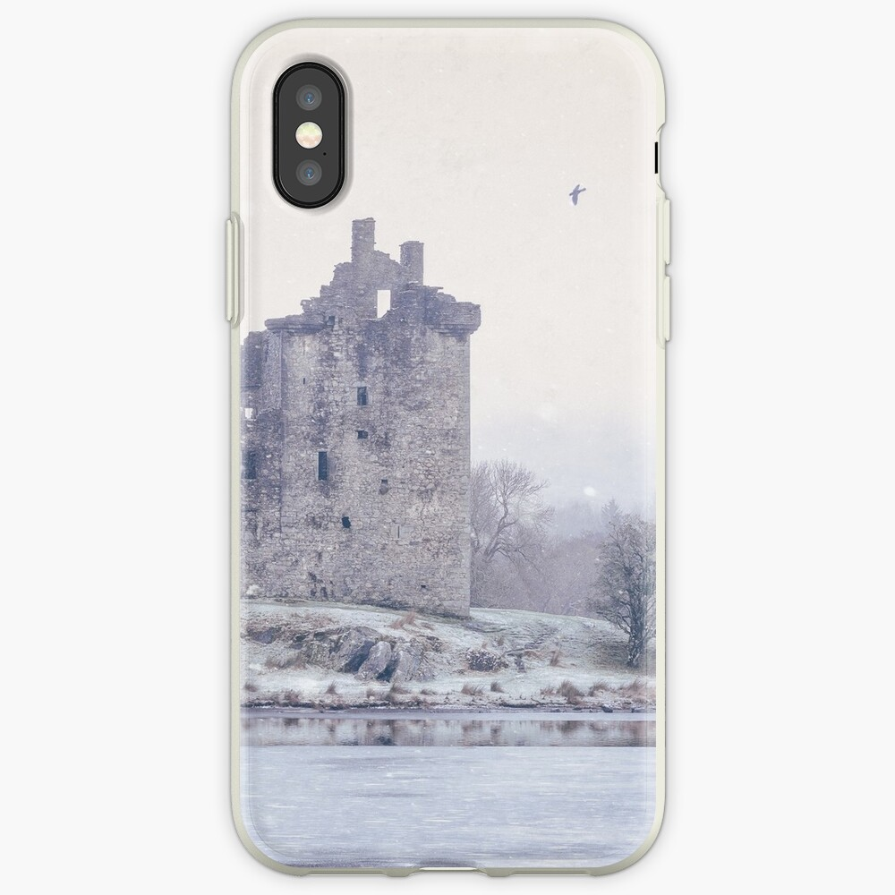 """""""First Snowfall"""" by Cat Burton iPhone Cases & Covers"""