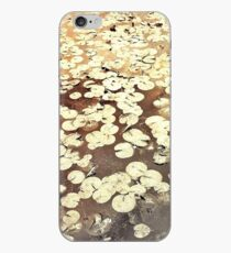 Golden Lily Pads - Art Photography - Nature Decor iPhone Case