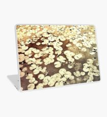 Golden Lily Pads - Art Photography - Nature Decor Laptop Skin