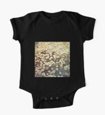Golden Lily Pads - Art Photography - Nature Decor One Piece - Short Sleeve