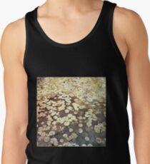 Golden Lily Pads - Art Photography - Nature Decor Men's Tank Top