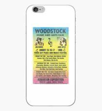 Woodstock 1969 Rainbow Poster iPhone Case
