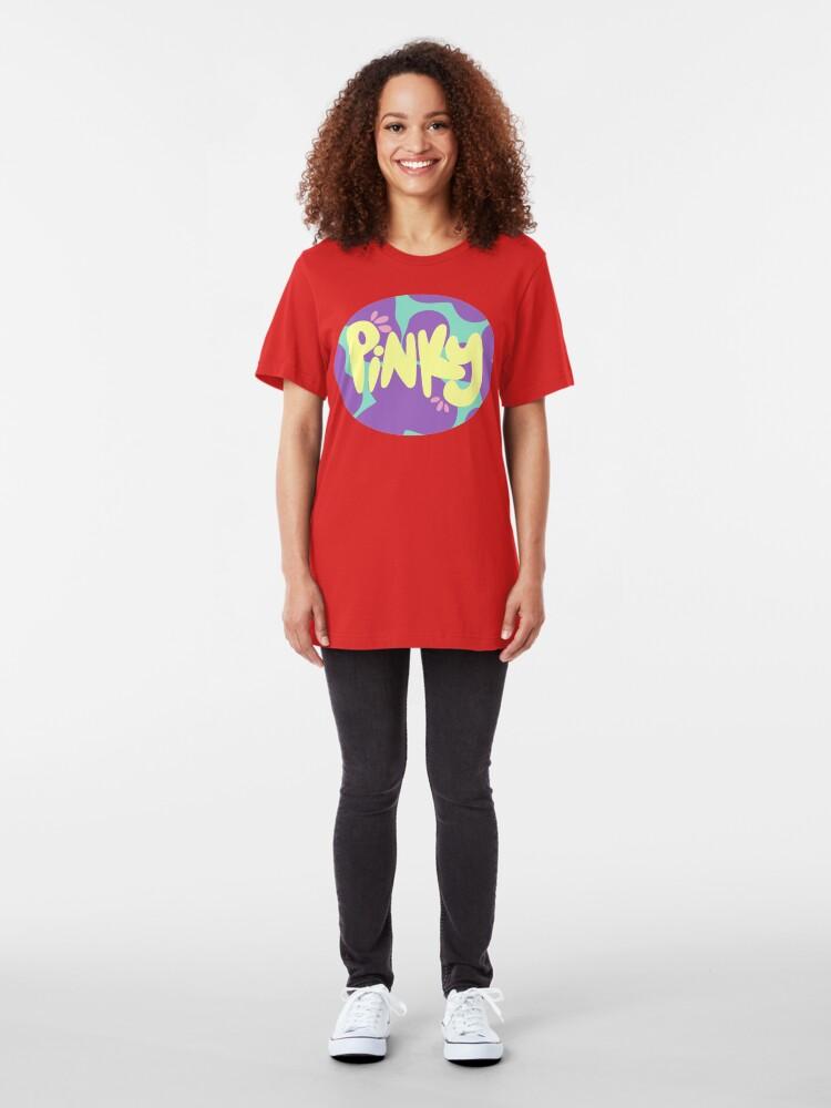 Alternate view of Mina Ashido: Pinky Slim Fit T-Shirt