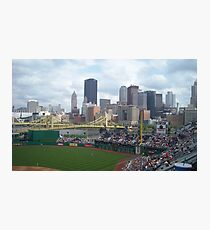 Baseball game at PNC Park Photographic Print