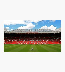 Old Trafford Photographic Print