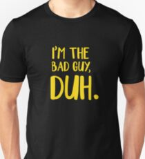 65f6f02c I'm The Bad Guy, Duh Yellow Slim Fit T-Shirt