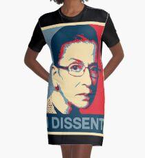 RBG ich widerspreche Plakat T-Shirt Kleid