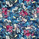 Sommergarten dunkelblau von RIZA PEKER