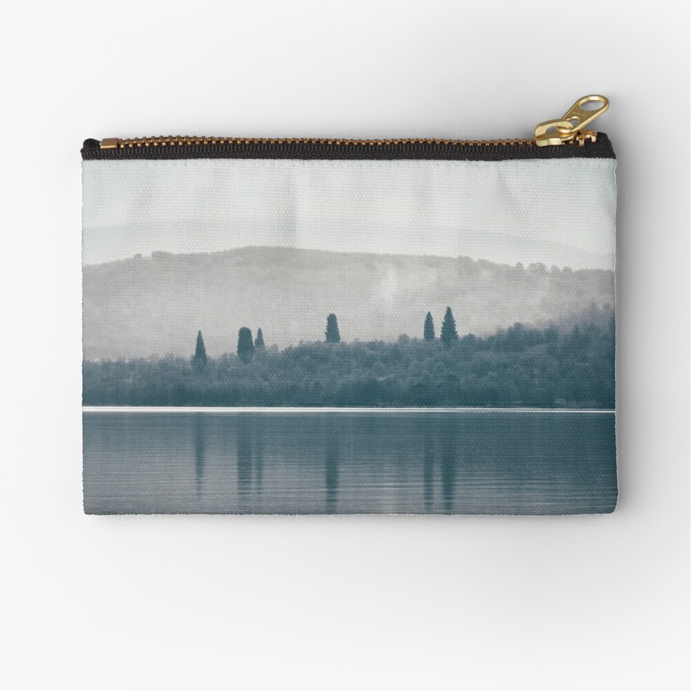 """""""The Towering Six"""" by Cat Burton Zipper Pouch"""