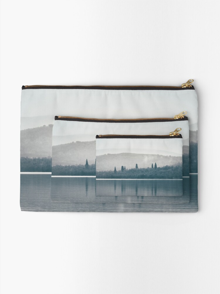 """Alternate view of """"The Towering Six"""" by Cat Burton Zipper Pouch"""