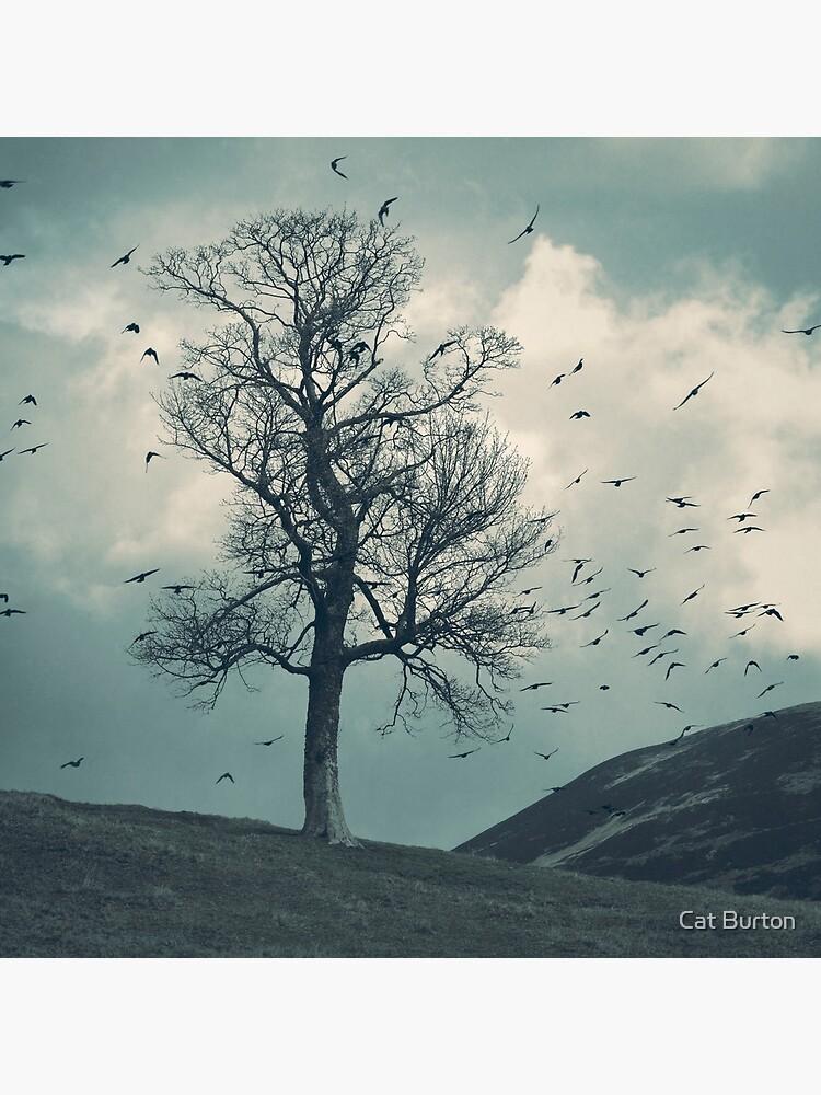 """The Flocking Tree"" by Cat Burton by cat-burton"
