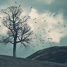 """The Flocking Tree"" by Cat Burton by Cat Burton"