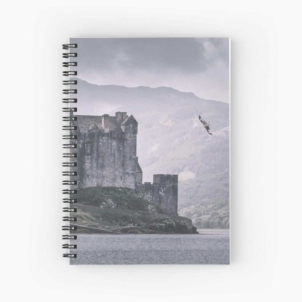 """""""The Messenger"""" by Cat Burton Spiral Notebook"""