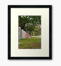 Memorial Day Framed Print