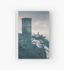 """""""The Tower Of Kinnoull Hill"""" by Cat Burton Hardcover Journal"""