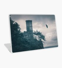 """""""The Tower Of Kinnoull Hill"""" by Cat Burton Laptop Skin"""