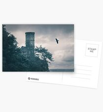 """The Tower Of Kinnoull Hill"" by Cat Burton Postcards"