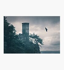 """""""The Tower Of Kinnoull Hill"""" by Cat Burton Photographic Print"""