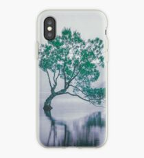 """""""The Tree In The Lake"""" by Cat Burton iPhone Case"""
