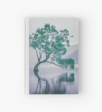 """The Tree In The Lake"" by Cat Burton Hardcover Journal"