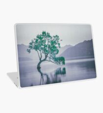 """""""The Tree In The Lake"""" by Cat Burton Laptop Skin"""
