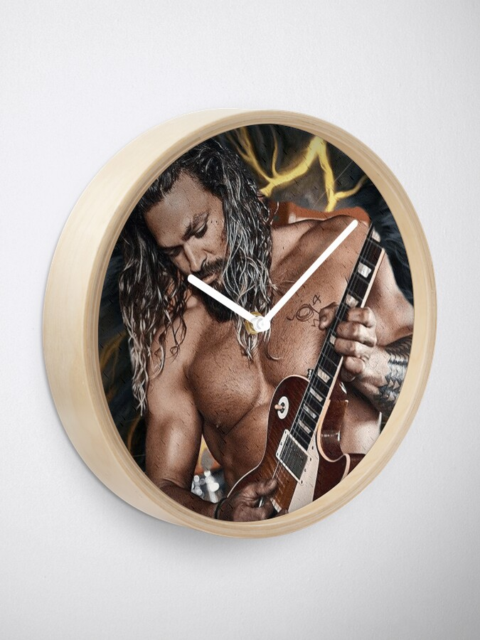 Alternate view of Jason Momoa Clock