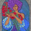 African Violet by Lenora Brown