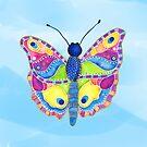 Butterfly II on a Summer Day by ShelleyYlstArt