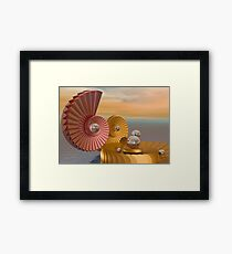 Pearl keepers -2 Framed Print