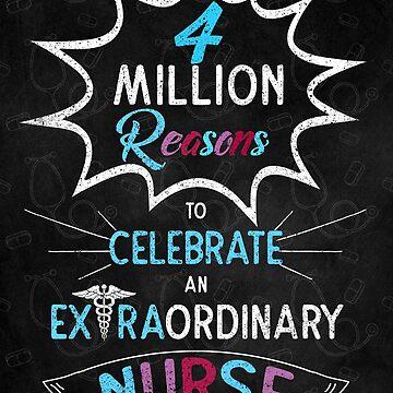 Nurses Day 4 Million Reasons by SalonOfArt