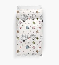 Sheep in love Duvet Cover