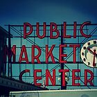 Pike Place Market Seattle Washington by Jonicool