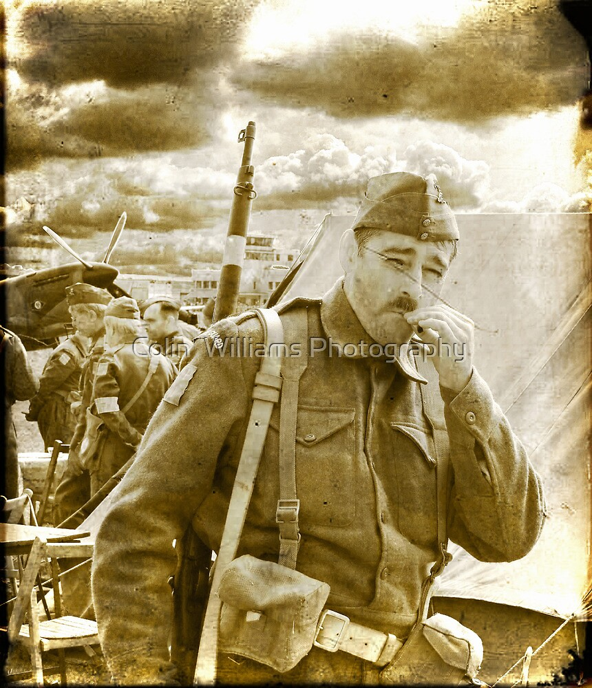 "Private ""Walker"" - Dad`s Army - 1940 by Colin  Williams Photography"