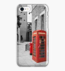 Red Telephone & Post Box iPhone Case/Skin