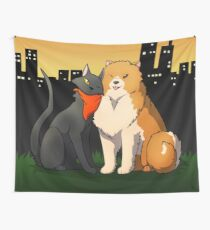 Sissel and Missile Wall Tapestry