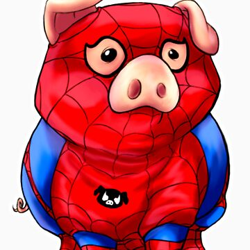 Spider-Pig by kino18