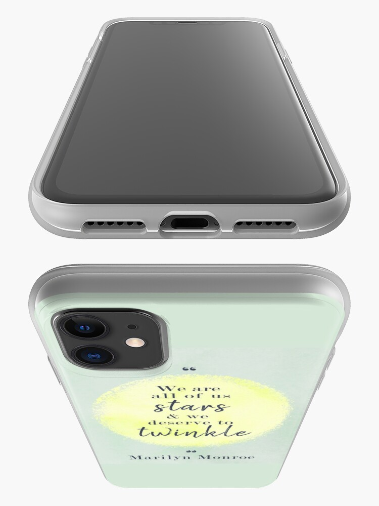 Alternate view of Marilyn Monroe Quote iPhone Case & Cover