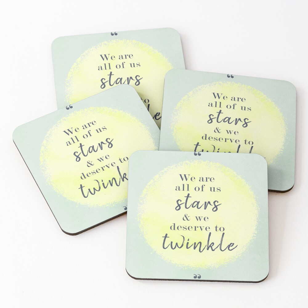 Marilyn Monroe Quote Coasters (Set of 4)