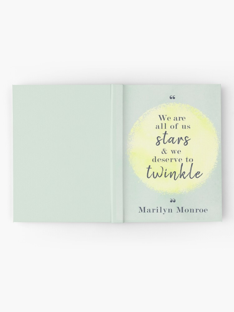 Alternate view of Marilyn Monroe Quote Hardcover Journal