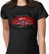 Alpine Renault A110 - Rear View Women's Fitted T-Shirt