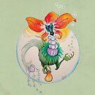 Blooming Fancy Tea Dragon by GwenPhifer
