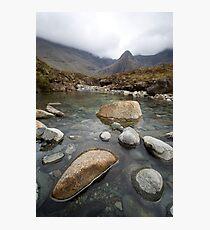 The Fairy Pools, Isle of Skye II Photographic Print