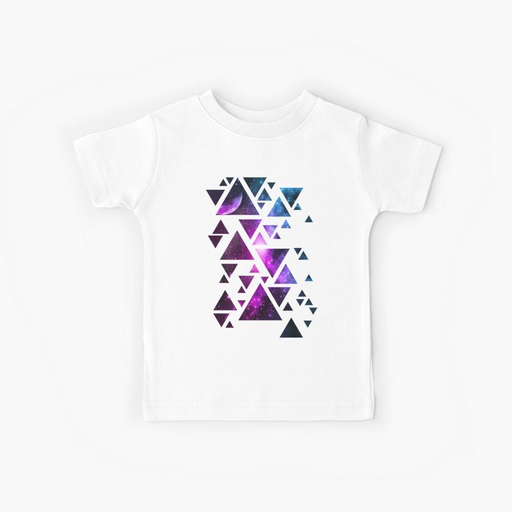 Geometrische Galaxie Kinder T-Shirt