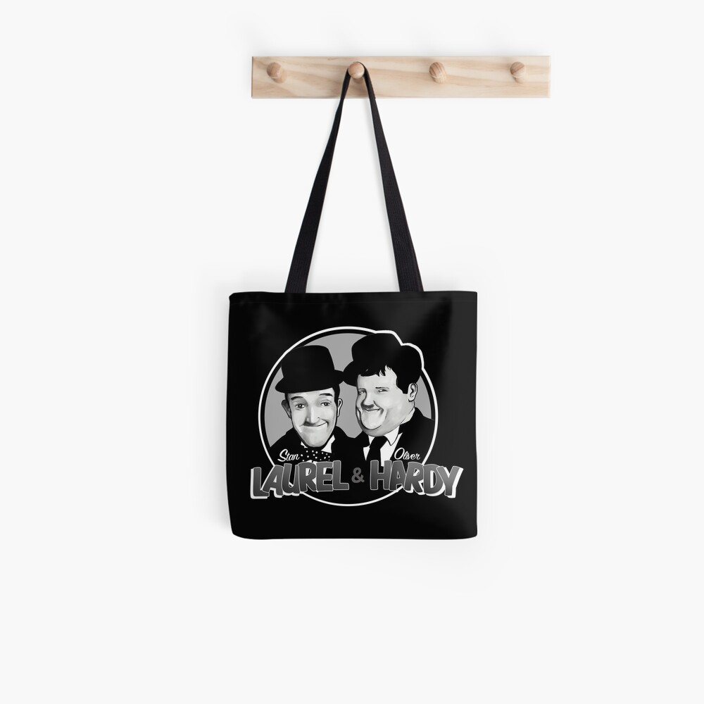 Laurel and Hardy design Tote Bag